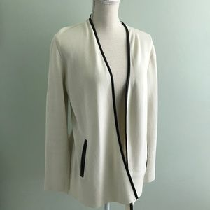 Talbots cream cardigan